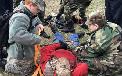Basic Wilderness First Aid & CPR = Huge Success!