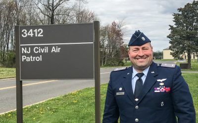 Our Commander Visits NJ Wing HQ for CLC