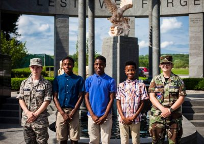 squadron 1007 participates in Delaware County flag raising ceremony May 20 3