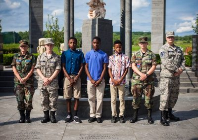 squadron 1007 participates in Delaware County flag raising ceremony May 20 4