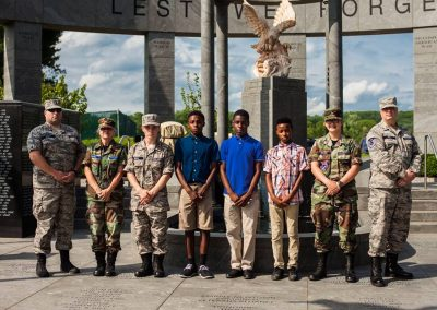 squadron 1007 participates in Delaware County flag raising ceremony May 20 5