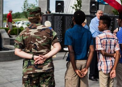 squadron 1007 participates in Delaware County flag raising ceremony May 20 8