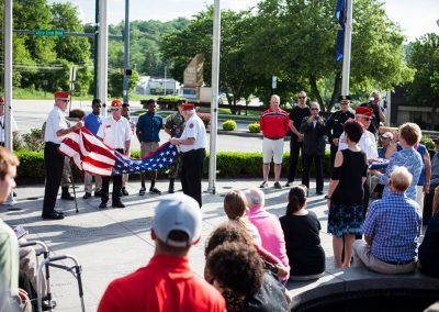 squadron 1007 participates in Delaware County flag raising ceremony May 20 9