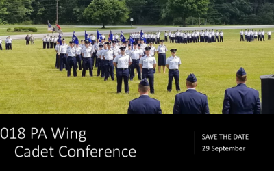 SAVE THE DATE! 2018 Cadet Conference Sept 29th