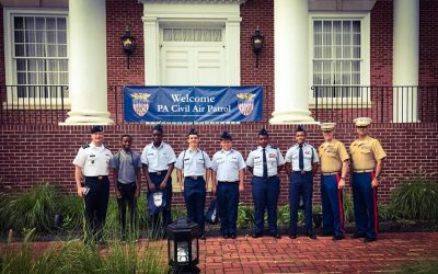 Squadron 1007 visits Valley Forge Military Academy