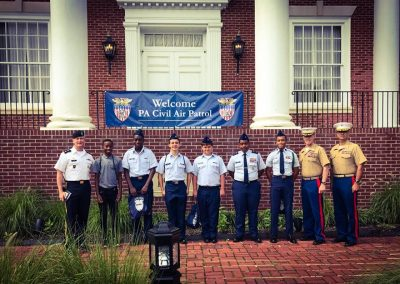 CAP Squadron 1007 visits Valley Forge Military Academy1