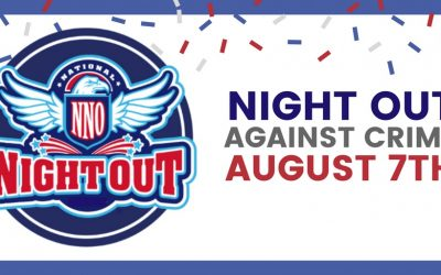 Join us at National Night Out, August 7th