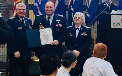 Squadron 1007 Awarded at the Group 3 Banquet