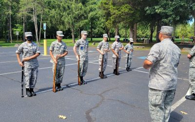 Back to Normal: Honor Guard Training & Picnic
