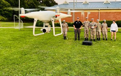 """Cadets Get """"Stick Time"""" with Drones"""