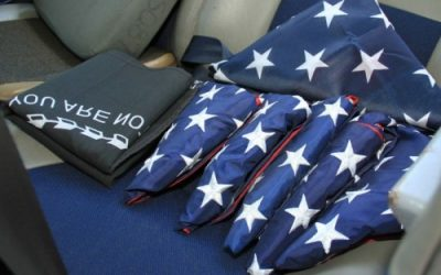Calif. Wing Aircraft to Commemorate 9/11 with U.S. Flags
