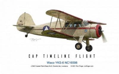 CAP Timeline Flight: Waco YKS-6