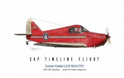 Timelight Flight 9 — Culver Cadet LCA