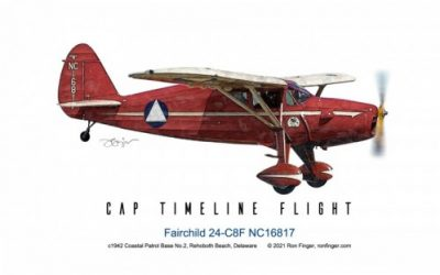 Timeline Flight 5 — Fairchild 24-C8F