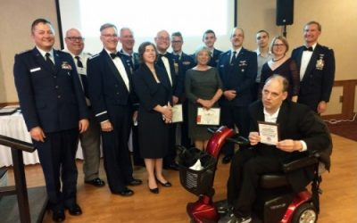 Disability No Obstacle for Minnesota Wing Member